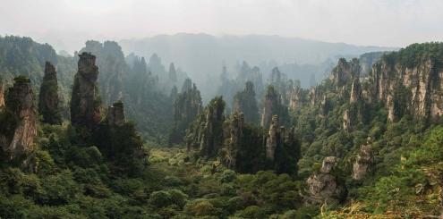 Diferente e impressionante: Zhangjiajie