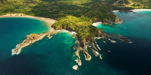 Detalhe por detalhe da Costa Rica