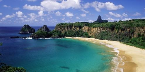 A melhor praia do mundo é Fernando de Noronha!