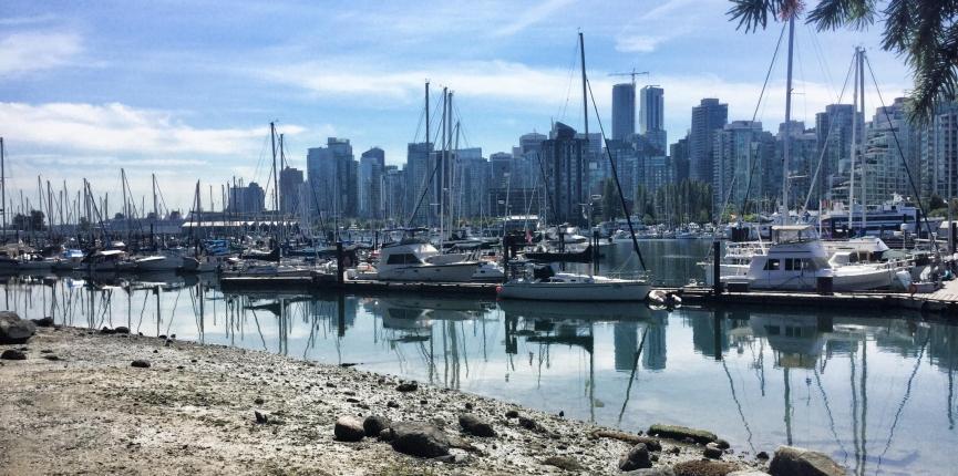 Vancouver em 2015, por Fernanda