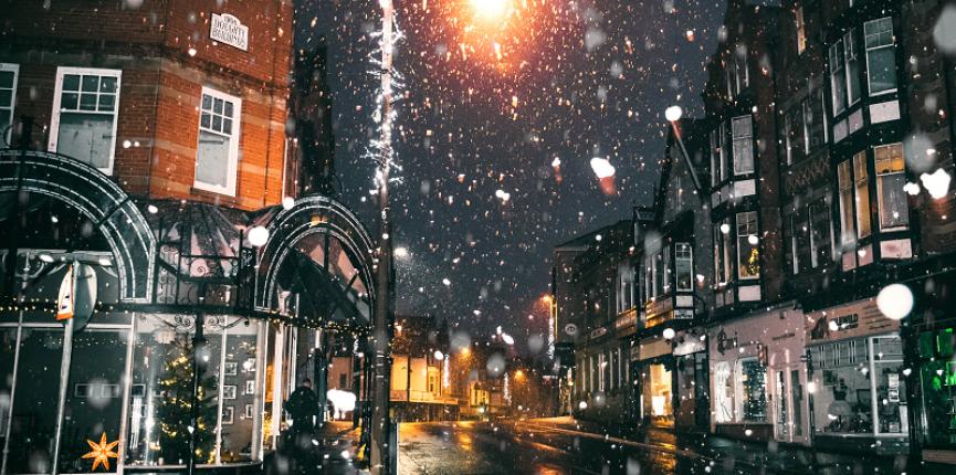 Cenários de filmes de Natal para visitar!