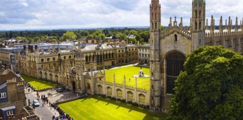 Curso de inglês em Cambridge